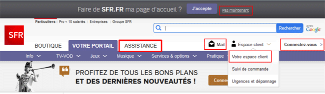 Sfr Neufbox Assistance Aidewindows Net