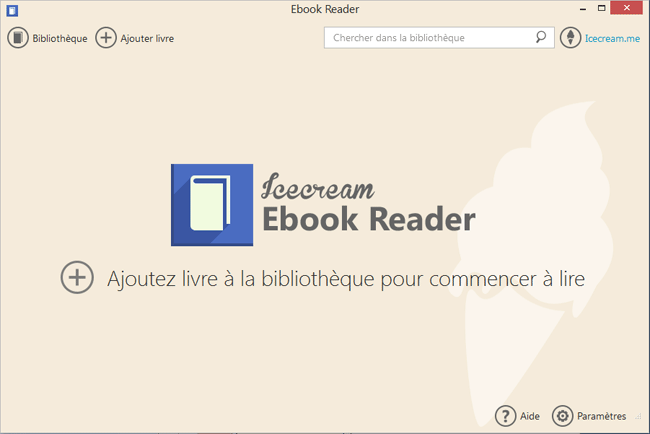 Icecream Ebook Reader - Installation