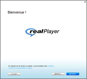 Installation Real Player 1