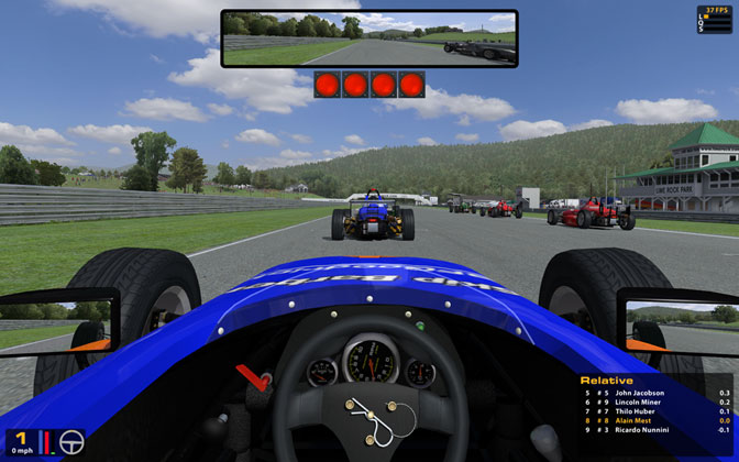 Skip Barber sur Lime Rock