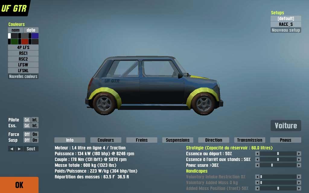 live for speed simulation automobile. Black Bedroom Furniture Sets. Home Design Ideas