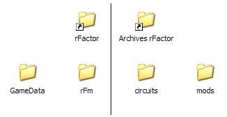 Rfactor installation for R factor windows