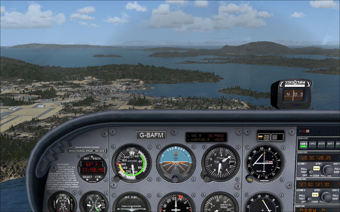 flight simulator   le cessna