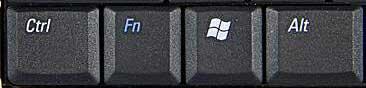 Touche Fn sur ordinateur portable