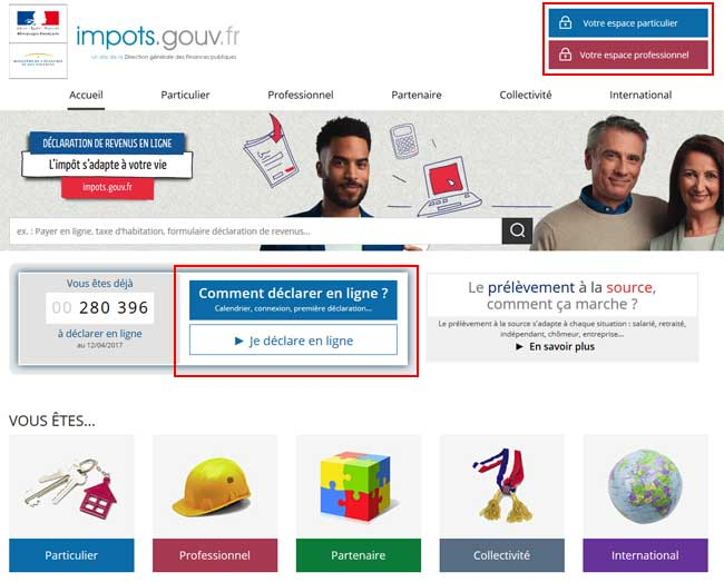 Declaration D Impots Sur Internet Aidewindows Net