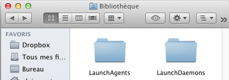 Mac OS X : LaunchAgents