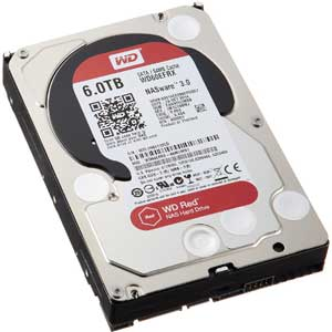 Western Digital WD Red Desktop WD60EFRX