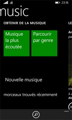 Windows Phone 8.1 : Music