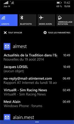 Windows Phone : Notifications
