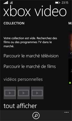 Windows Phone 8.1 : Vidéo