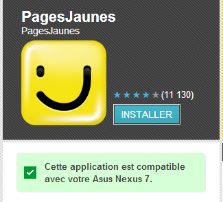 Android : Installer une application