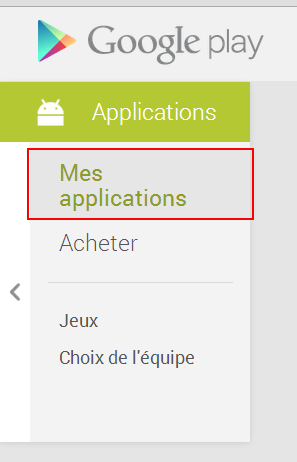 Play Store - Applications