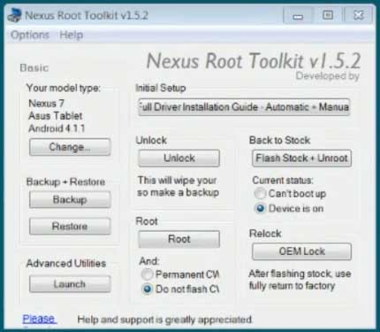 Nexus Root Toolkit 1.5.2
