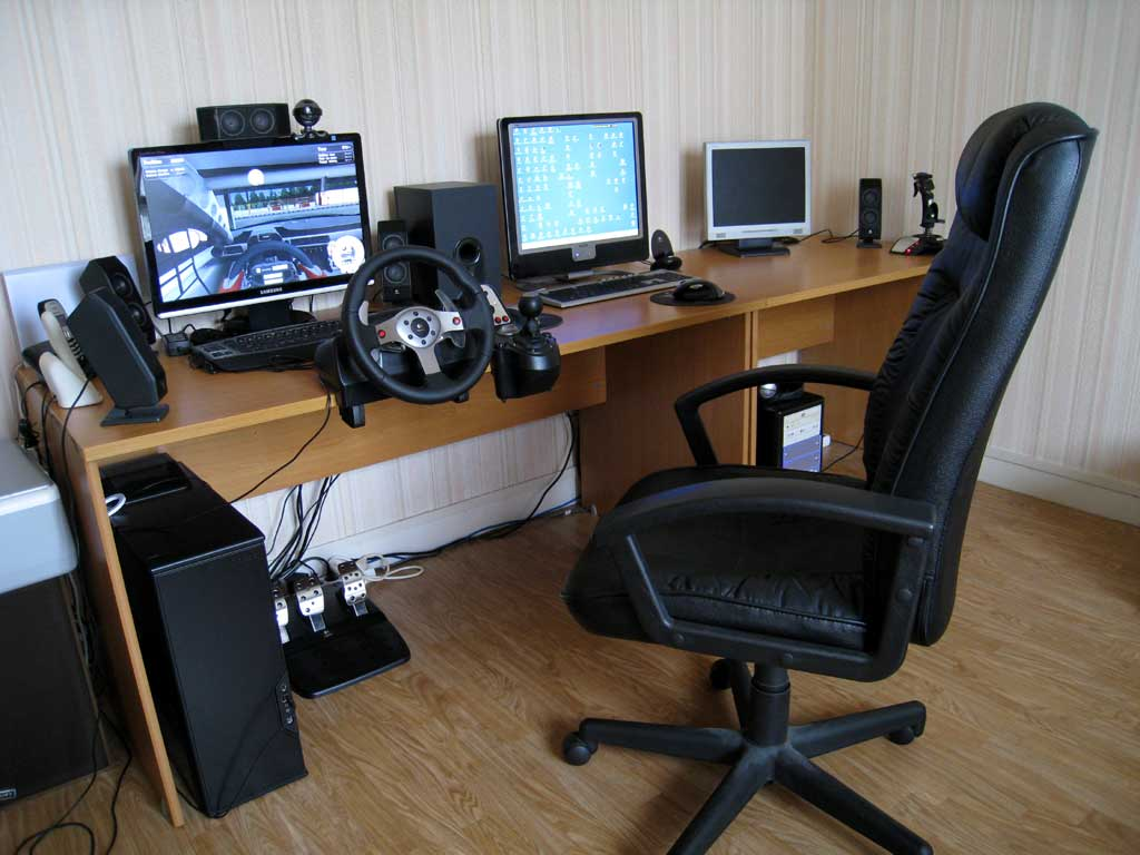 Siege playseats et logitech g25 simulation automobile