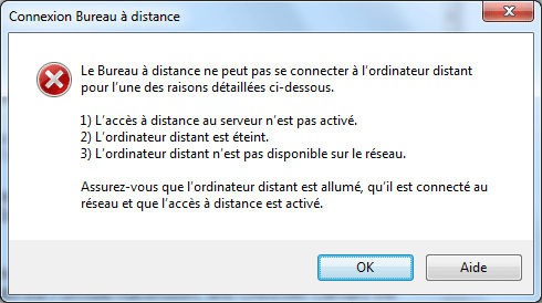Bureau distance ou remote desktop contr le distance - Connection bureau a distance pour mac ...
