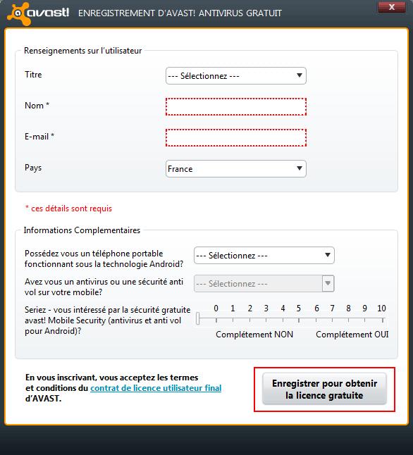 SUR GRATUIT 01NET 4.8 AVAST TÉLÉCHARGER