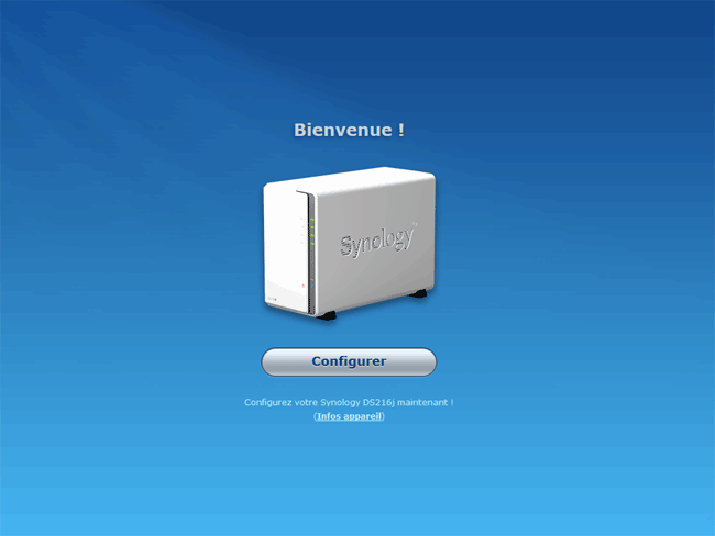 Synology DSM 6 : Bienvenue