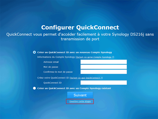 Synology DSM 6 : Configurer QuickConnect