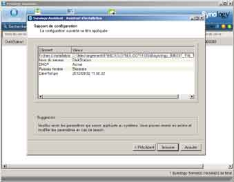 Installation Synology 4