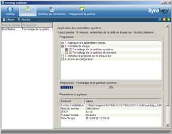 Installation Synology 6