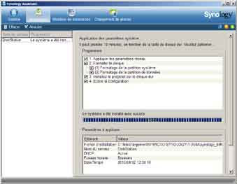 Installation Synology 7