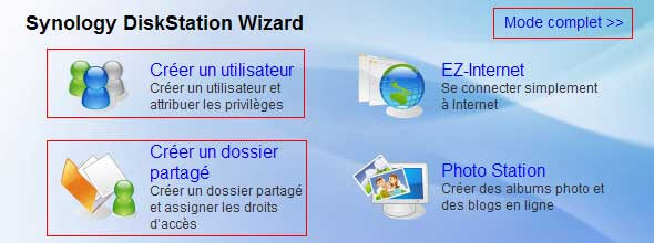 DiskStation Wizard