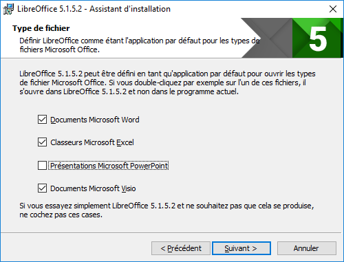 LibreOffice - Installation