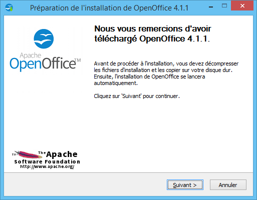 OpenOffice Installation 1