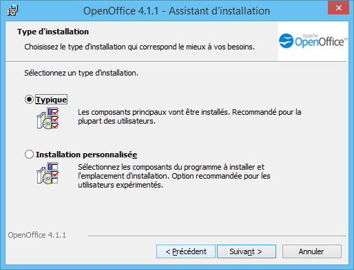 OpenOffice Installation 4