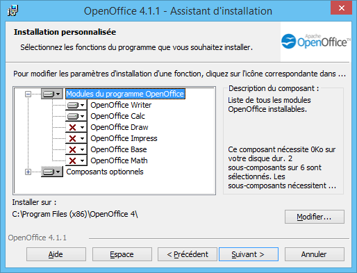OpenOffice Installation 41