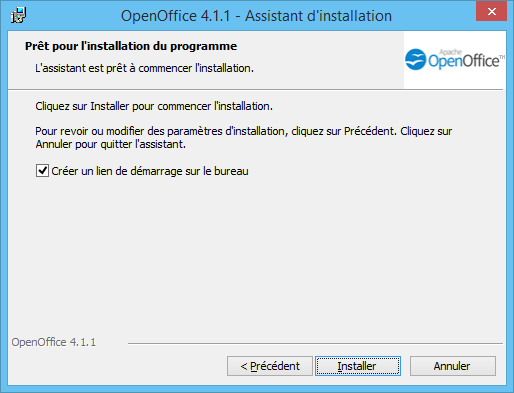 OpenOffice Installation 5