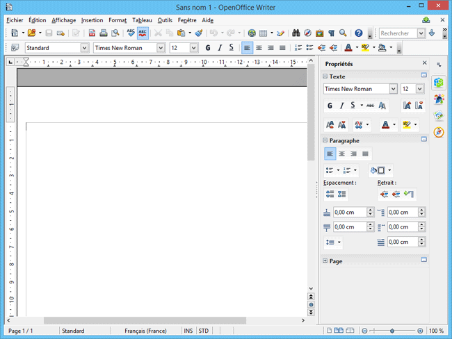 Suite bureautique openoffice - Telecharger open office gratuit pour windows en francais ...