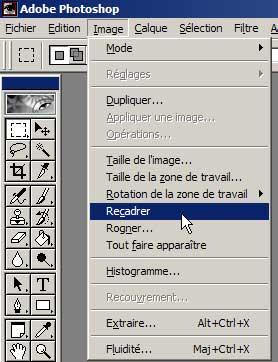 Utilisation de photoshop - Rogner une image sur open office ...