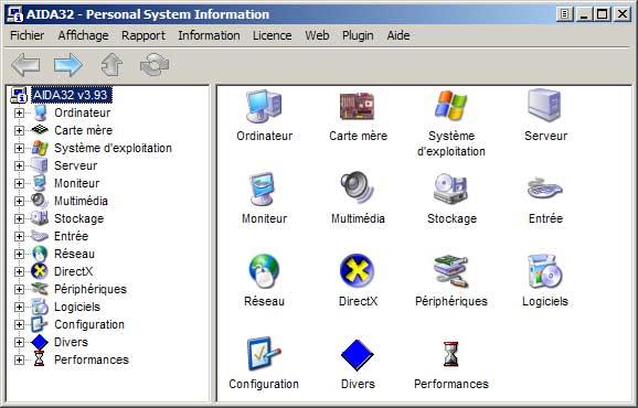TÉLÉCHARGER GRATUITEMENT AIDA32 ENTREPRISE SYSTEM INFORMATION