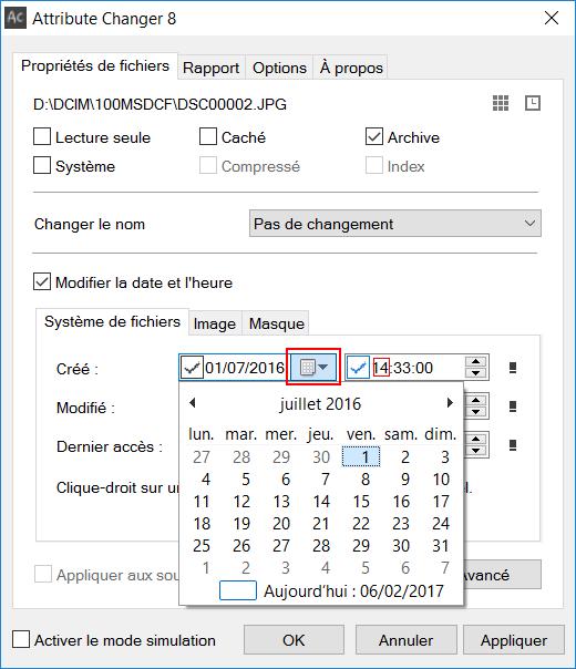 Photo Numerique Attribute Changer Modifier La Date D Une Photo