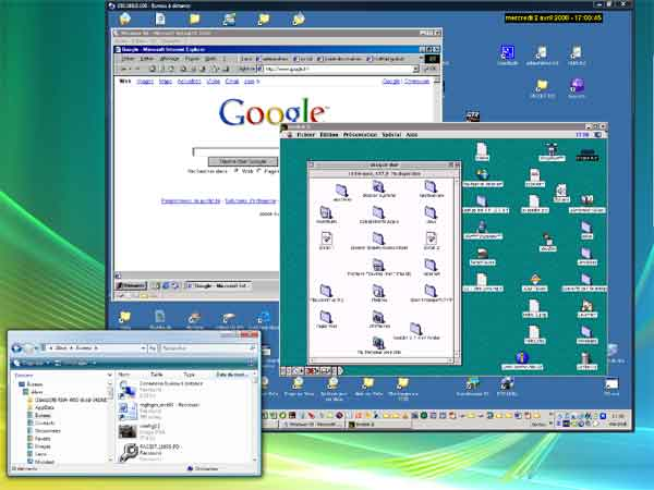 Virtual PC sur Windows XP Pro