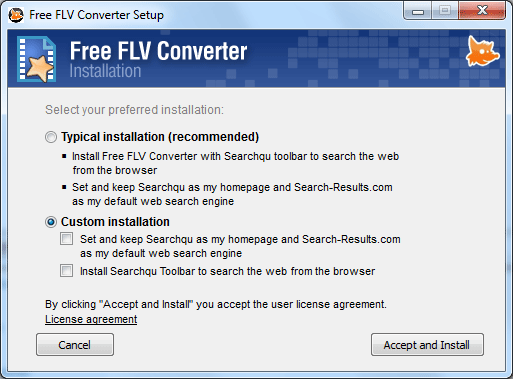 Free Video converter Installation