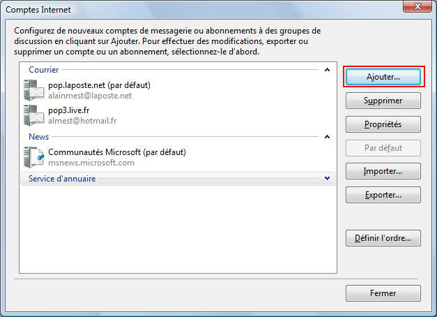 Windows Mail Configurer Une Adresse Mail Aidewindowsnet
