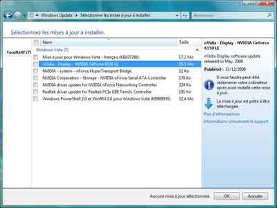 windows update le site web a rencontre une erreur