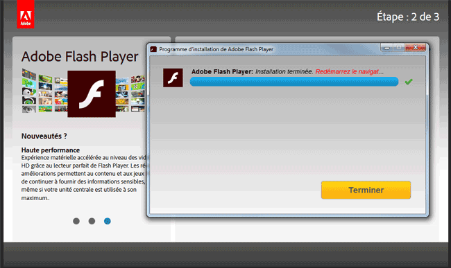 Flash Player : Installation