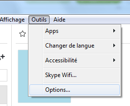 Skype : Options