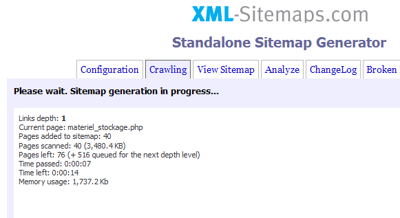 xml sitemap generator aidewindows net