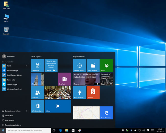 Windows 10 - Build 10240