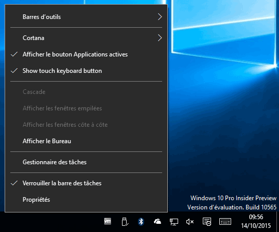 Windows 10 Build 10565