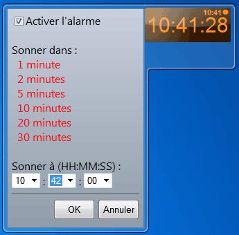 Les gadgets sous windows 7 - Horloge pour bureau windows 7 ...