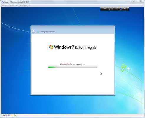 Windows Seven - Installation 7