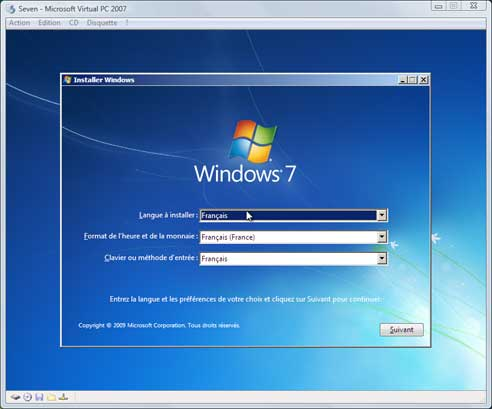 Windows Seven - Installation 2