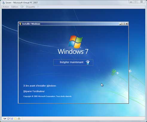 Windows Seven - Installation 3