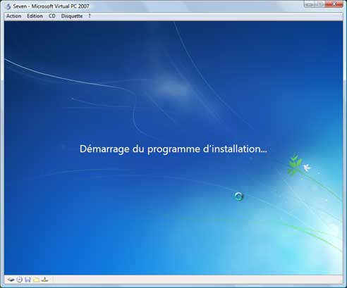 Windows Seven - Installation 4