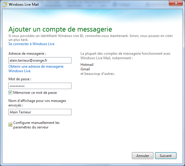 Boite mail sfr fr messagerie for Messerie fr